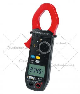 chauvin-f201-clampmeter